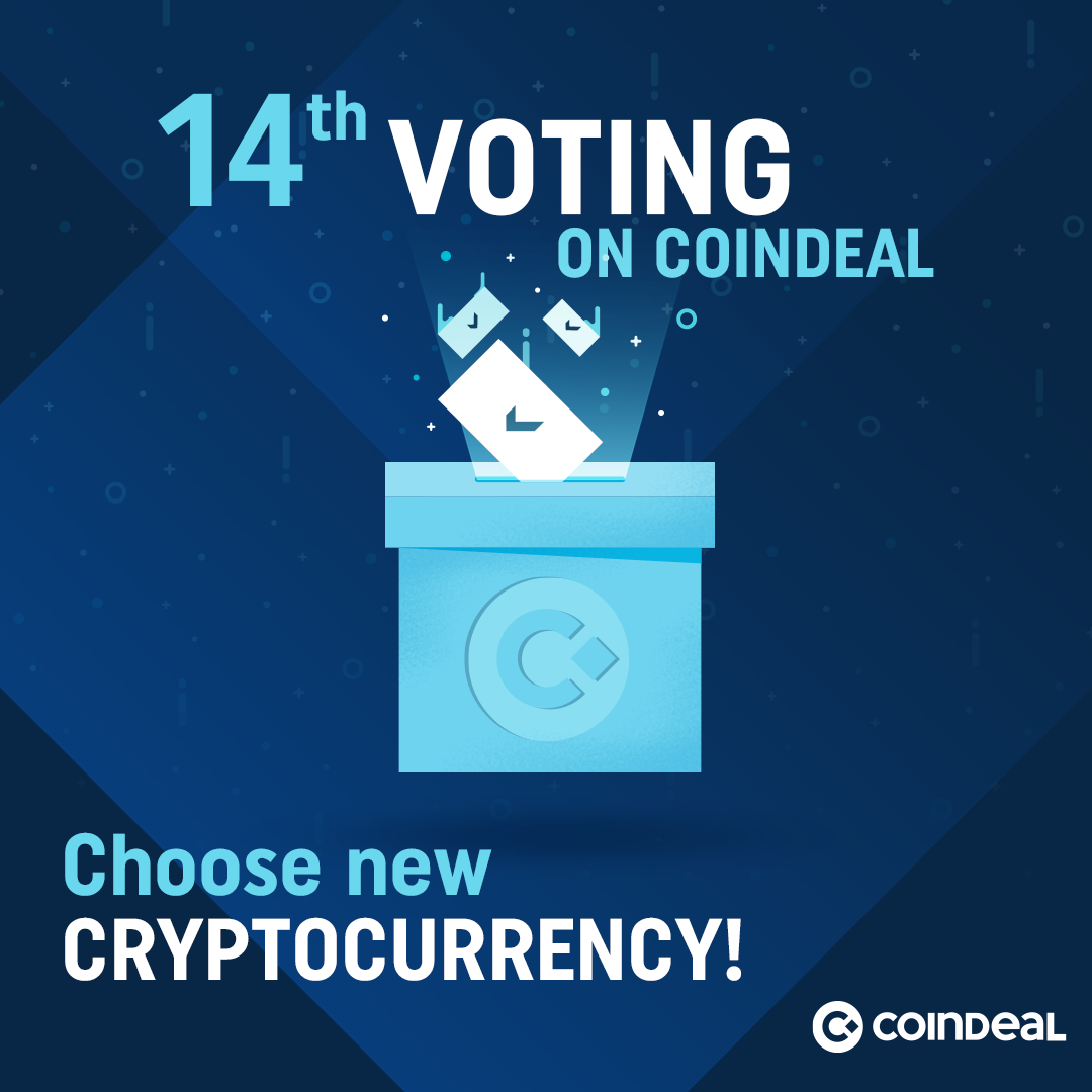 14th vote for a new cryptocurrency