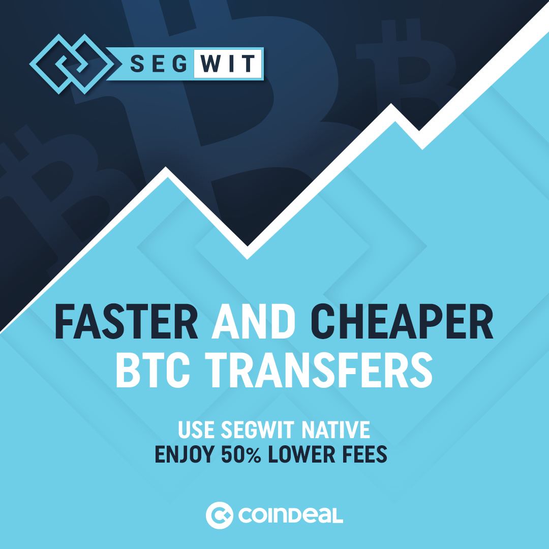 Save time and money with SegWit