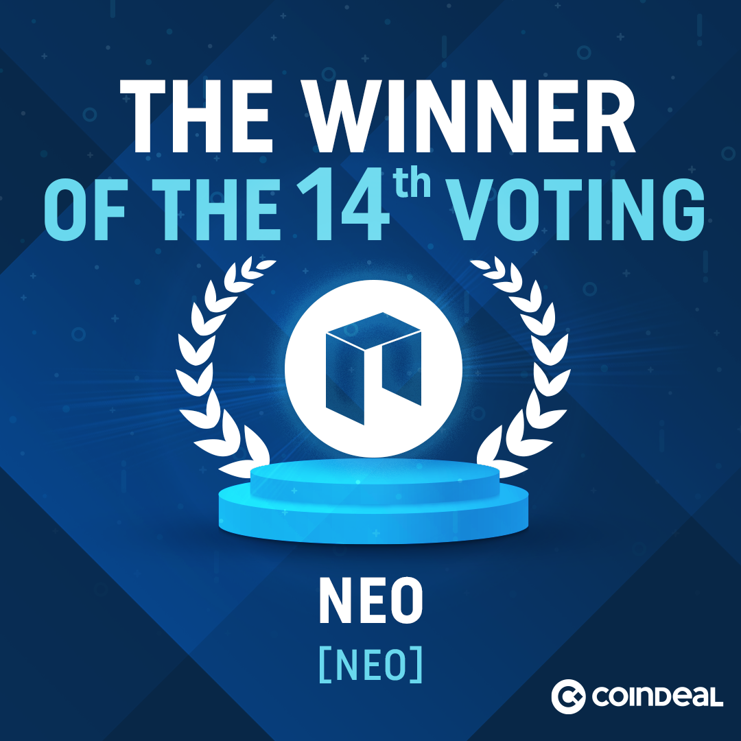 NEO won voting on CoinDeal