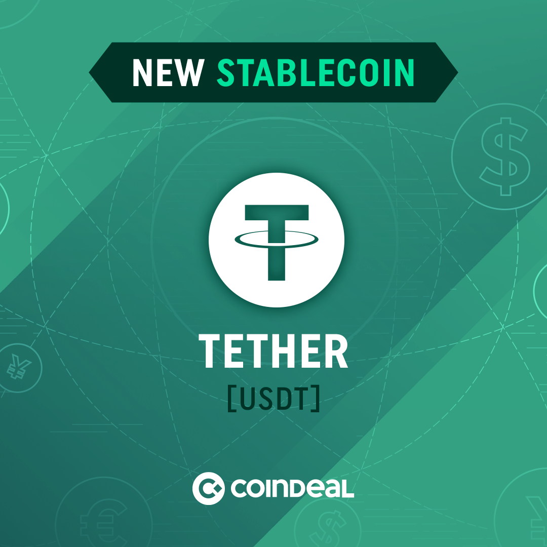 Trade Tether on CoinDeal!