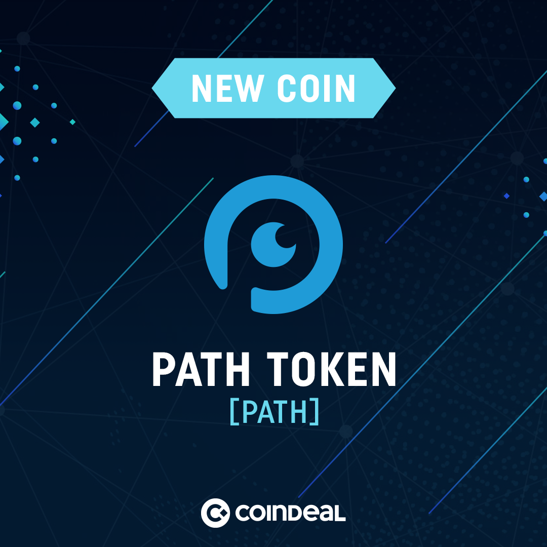 Path Token is available on CoinDeal!