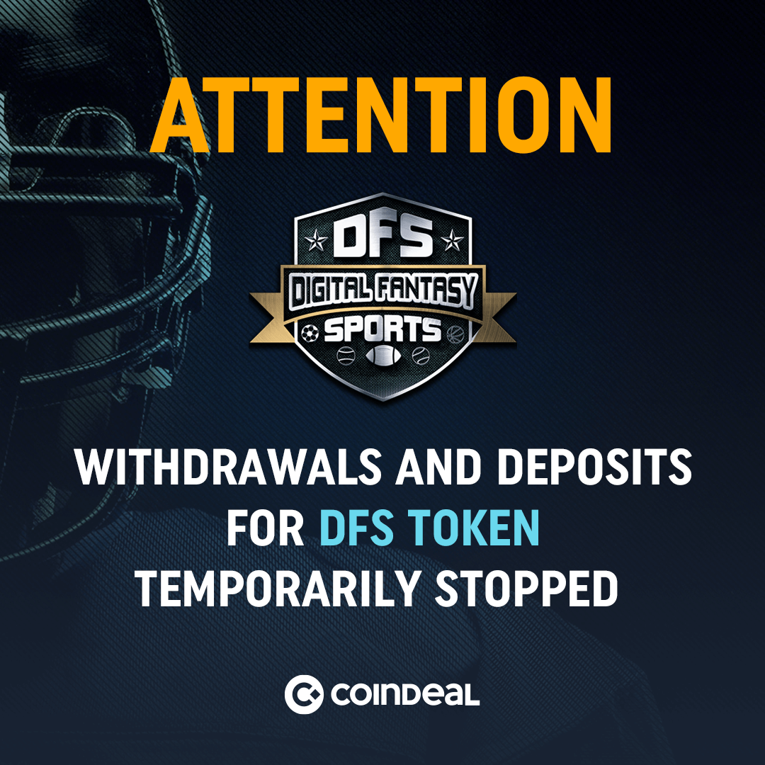 Important notice for DFS traders