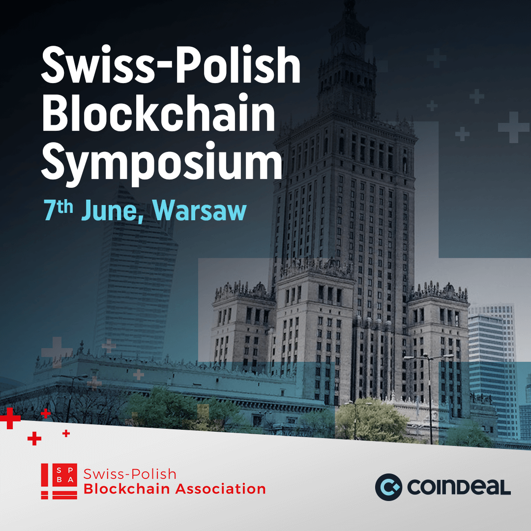 CoinDeal at Swiss-Polish Blockchain Symposium