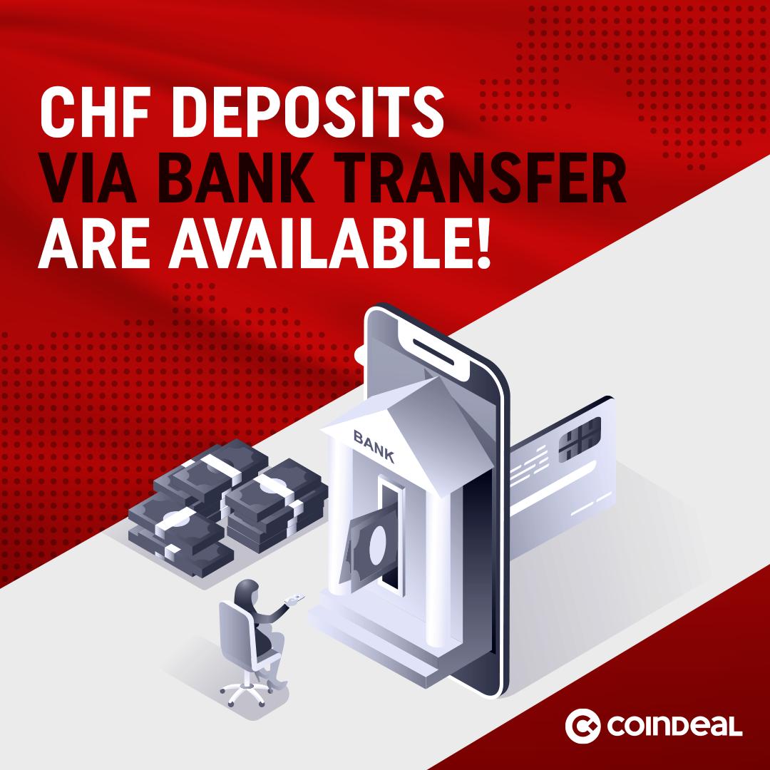 Deposit CHF? So easy!