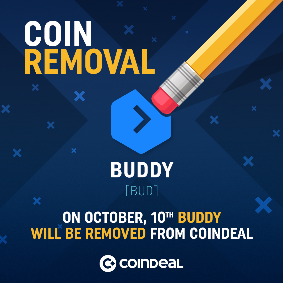 Attention Buddy holders!