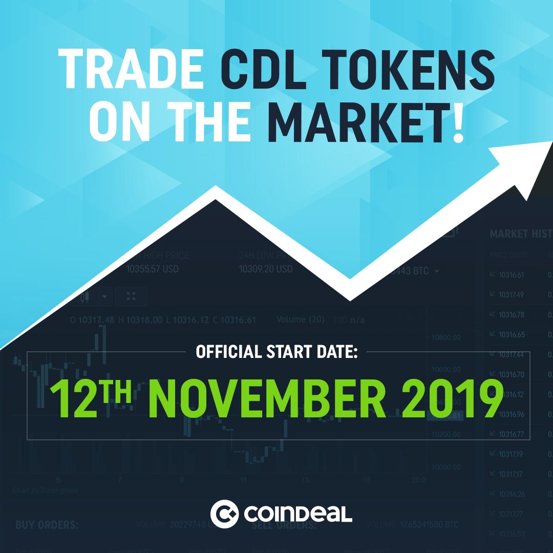 Market starts!