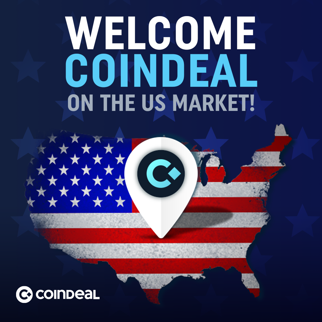 Welcome CoinDeal on US market
