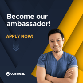 Become a CoinDeal Country Ambassador!