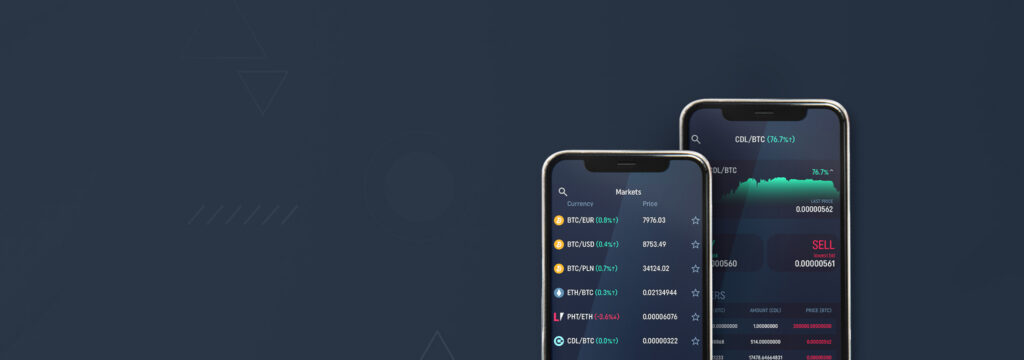 CoinDeal mobile app for trading is available!