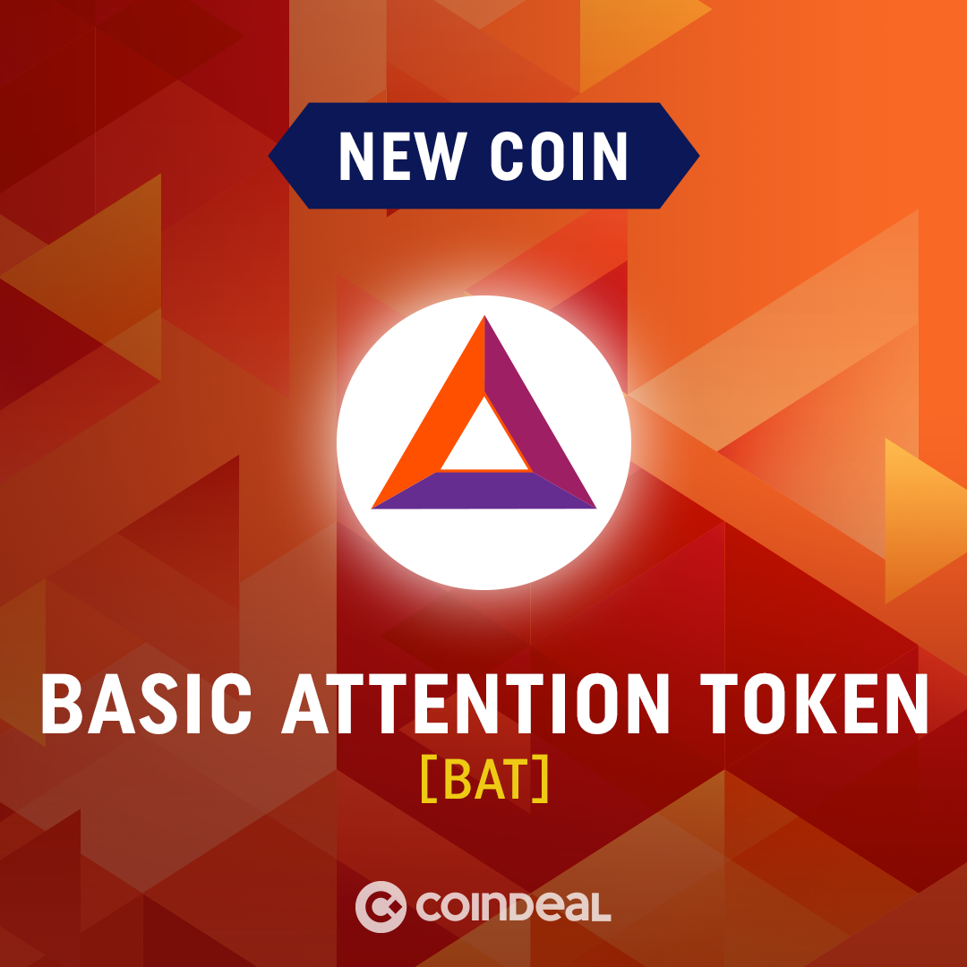Welcome BAT on CoinDeal!