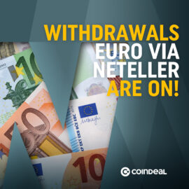 Withdrawals via Neteller are on!