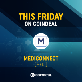 Welcome MEDI on CoinDeal!