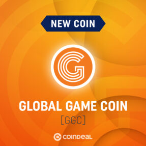 Let's welcome GGC on CoinDeal!