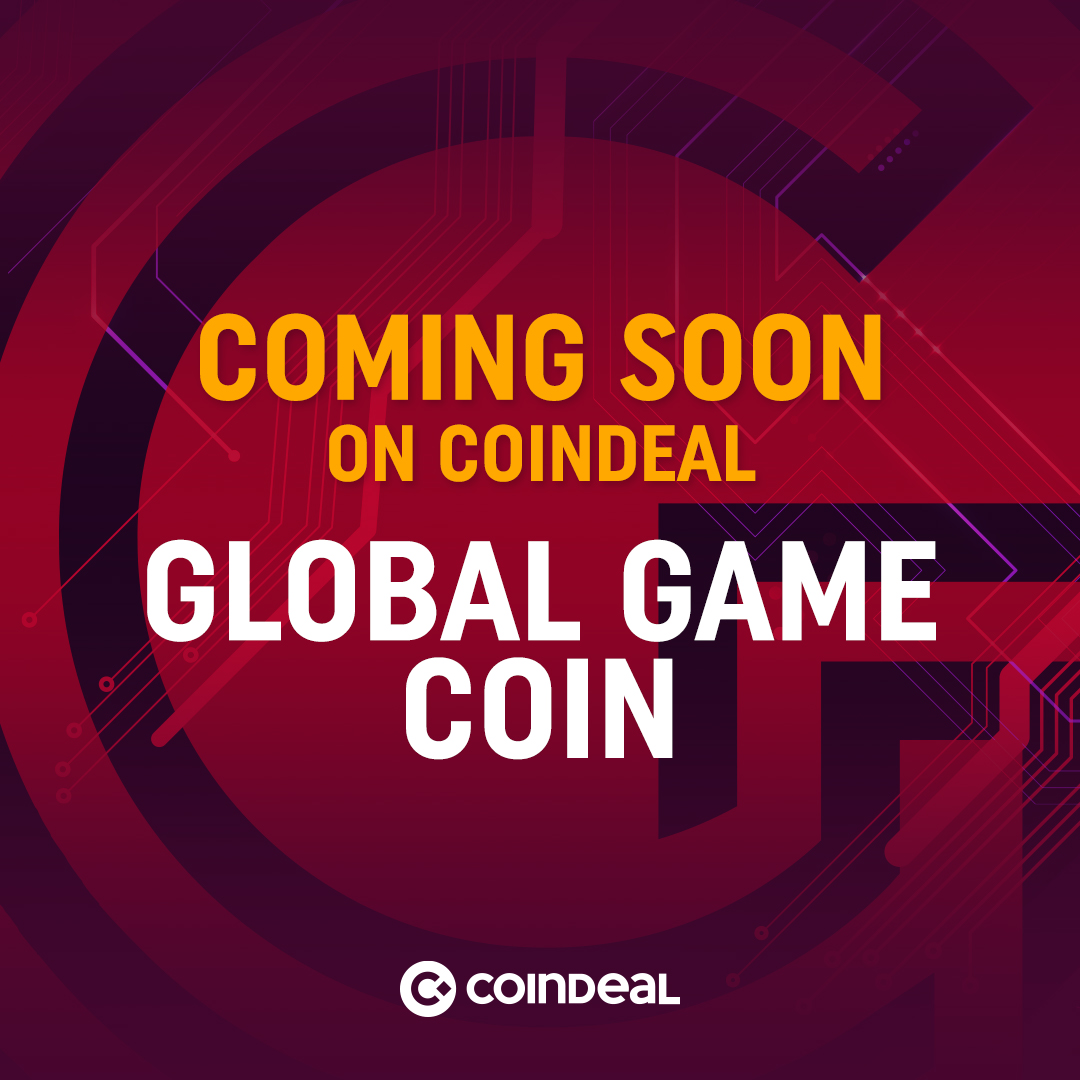 GGC soon listed on CoinDeal!