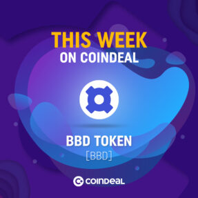 New crypto on CoinDeal!