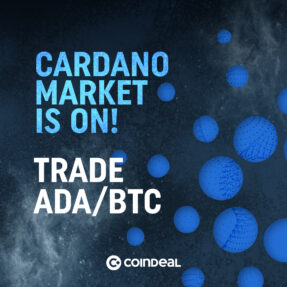 Welcome Cardano on CoinDeal!