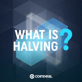 Be prepared with us for halving!