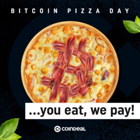 Tasty memories! Check our Bitcoin Pizza Day!