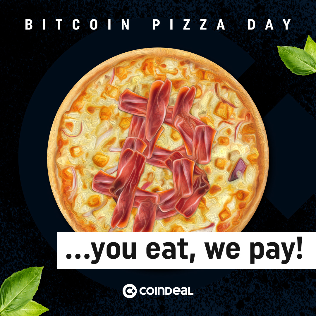 You eat, we pay – celebrate Bitcoin Pizza Day!