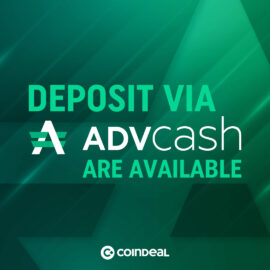 Deposit FIATs via ADVCASH!