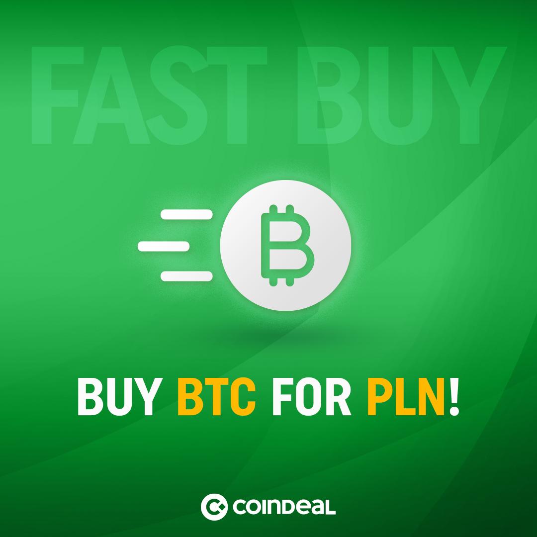 Buy BTC for PLN!