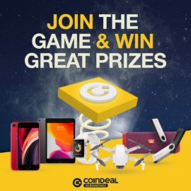 Learn how to trade on derivatives for free and win Apple prizes from CoinDeal Derivatives!