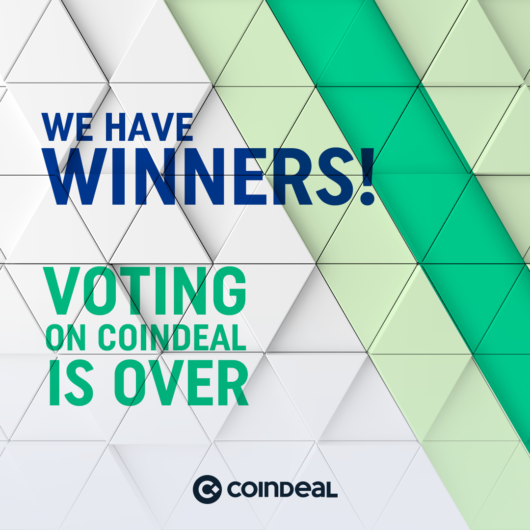 27th voting on CoinDeal is over!